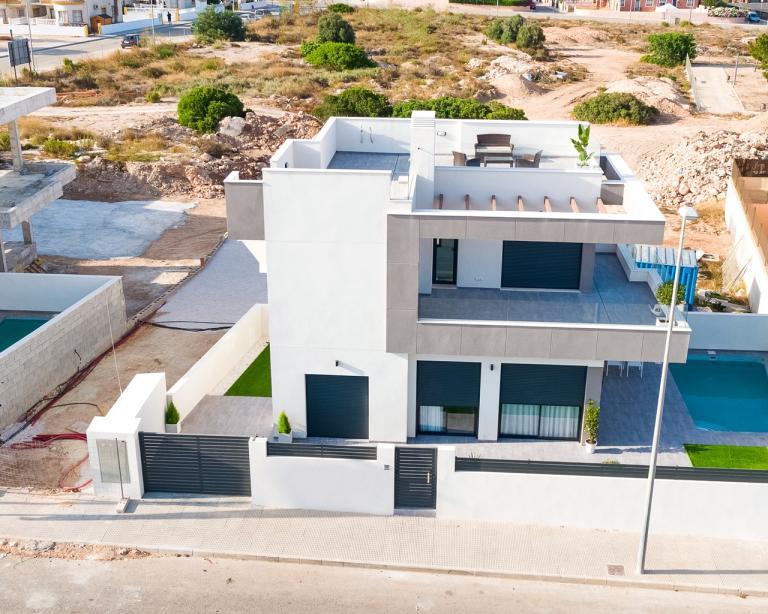 Neubauvillen in Los Montesinos - Alicante - Costa Blanca Nieuwbouw Costa Blanca