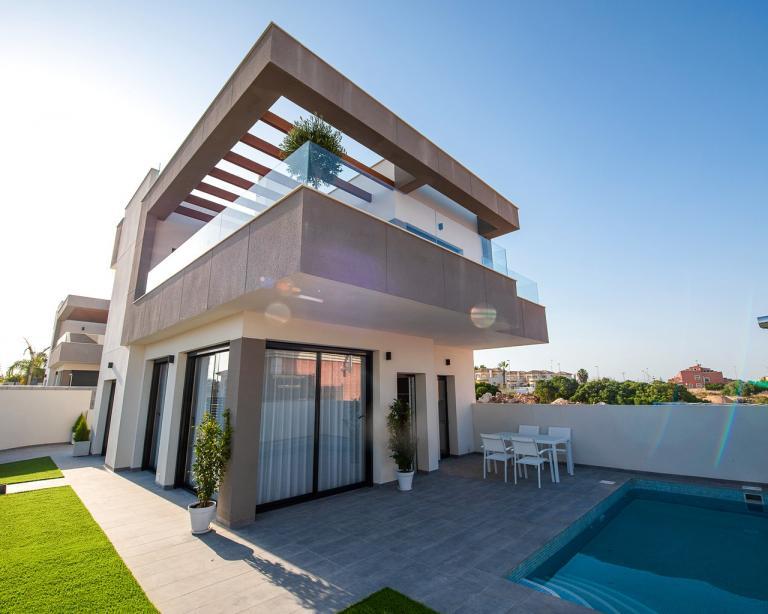 Neubauvillen in Los Montesinos - Alicante - Costa Blanca in Nieuwbouw Costa Blanca