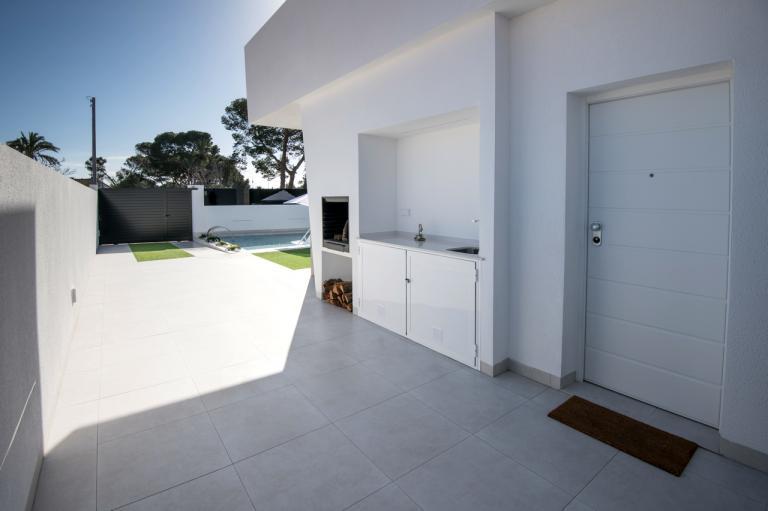 3 Bedroom 3 bathroom modern villas with private pool Nieuwbouw Costa Blanca