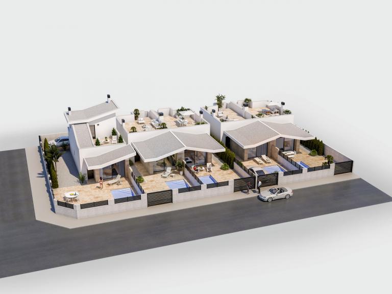 2 or 3 bedroom option property - Benijofar in Nieuwbouw Costa Blanca