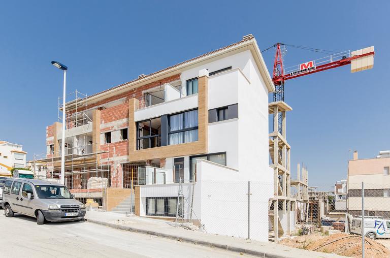 Townhouse mit 3 Schlafzimmern in Guardamar del Segura in Nieuwbouw Costa Blanca
