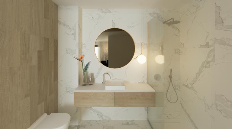 3 Schlafzimmer 2 Badezimmer neues Apartment zentrum Guardamar Nieuwbouw Costa Blanca
