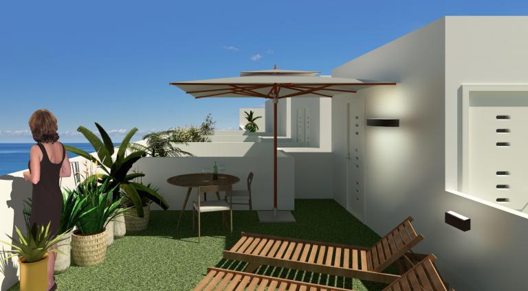 3 Schlafzimmer 2 Badezimmer neues Apartment zentrum Guardamar in Nieuwbouw Costa Blanca