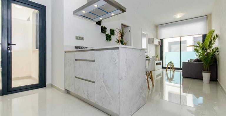 1 und 2 Zimmer-Wohnungen Stadtzentrum Torrevieja NEU in Nieuwbouw Costa Blanca