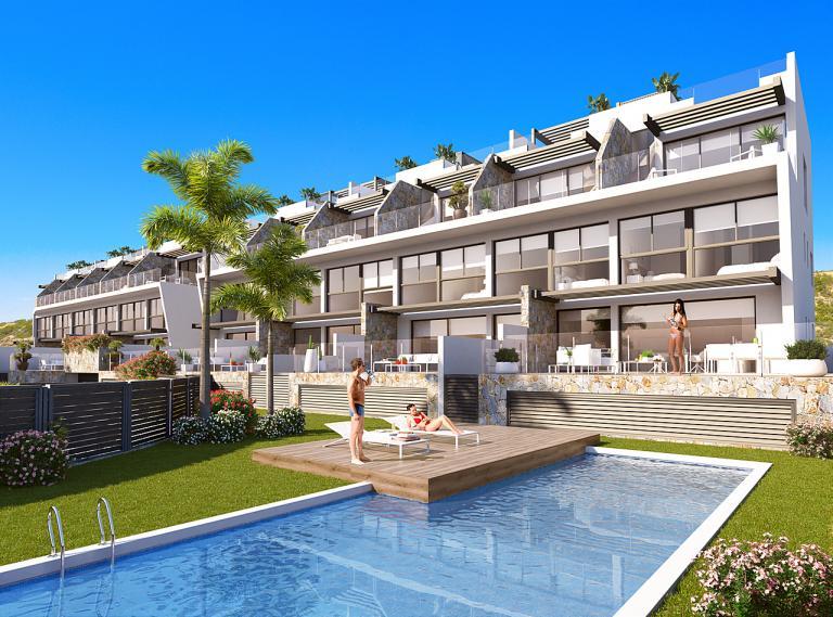 3 Schlafzimmer 3 Badezimmer Duplex NEU Guardamar in Nieuwbouw Costa Blanca