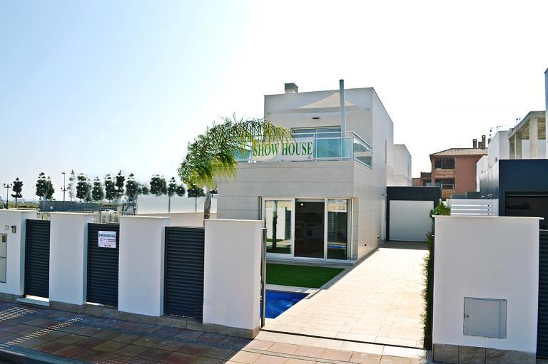 3/2 Moderne neue Villen in Los Alcazares - Murcia in Nieuwbouw Costa Blanca