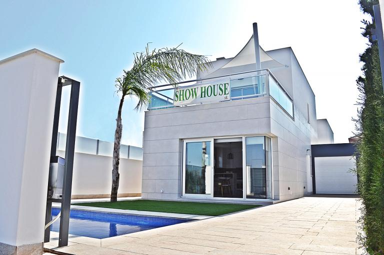 3/2 Moderne neue Villen in Los Alcazares - Murcia Nieuwbouw Costa Blanca