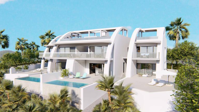 LUXUS NEUE MODERNE WOHNUNGEN IN ROJALES Nieuwbouw Costa Blanca